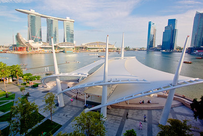 Esplanade – Theatres on the Bay. Singapore