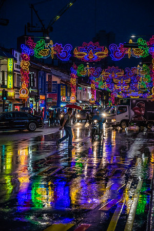 Rainy Day at Little India.