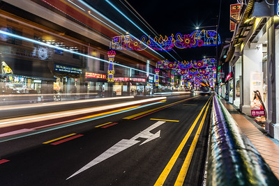 Little India at night.