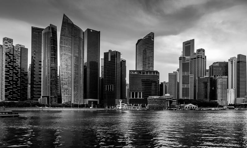 Singapore's Bayfront skyline