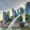 Gentle Glow at Merlion