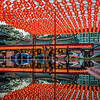 Reflection of Thian Hock Keng Temple.