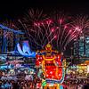 River Hong Bao 2018 fireworks.