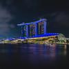 Marina Bay Sands Light Show.