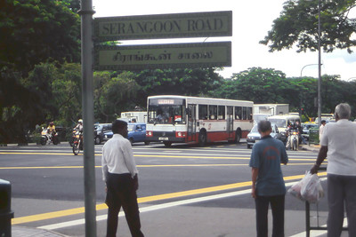 Singapore Bus Services SBS3817S Little India Singapore Sep 98