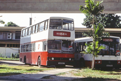 Singapore Bus Services SBS2591Z Eunos Singapore Sep 98