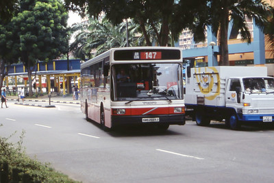 Singapore Bus Services SBS2699J Hougang Central Singapore Sep 98