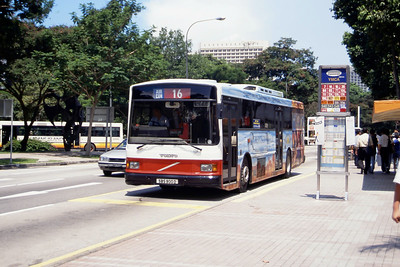 Singapore Bus Services SBS900D Orchard Rd Singapore Sep 98
