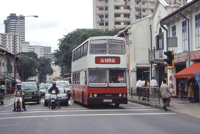 Singapore Bus Services SBS5615U Little India Singapore 1 Sep 98