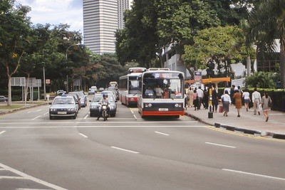 Singapore Bus Services SBS97Y Orchard Rd Singapore Sep 98