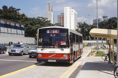 Singapore Bus Services SBS948S Orchard Rd Singapore 1 Sep 98