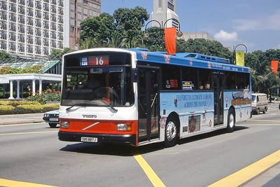 Singapore Bus Services SBS887J Orchard Rd Singapore Sep 98