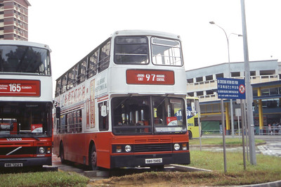Singapore Bus Services SBS7141G Hougang Central Singapore Sep 98
