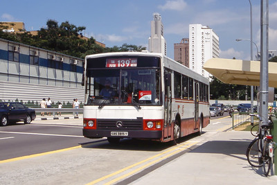 Singapore Bus Services SBS3815Y Orchard Rd Singapore Sep 98