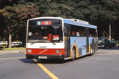 Singapore Bus Services SBS898C Orchard Rd Singapore Sep 98