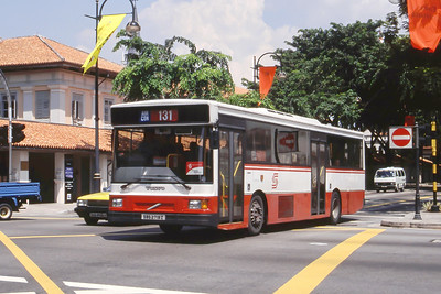 Singapore Bus Services SBS2719Z  Bras Basah Rd Singapore Sep 98
