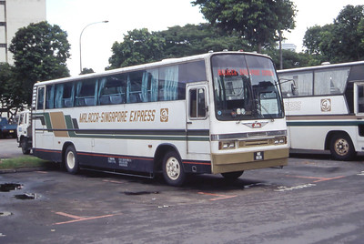 Malacca_Singapore Express MX9531 Cross Border Bus Stn Singapore Sep 98
