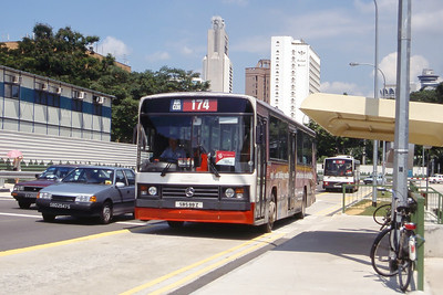Singapore Bus Services SBS88Z Orchard Rd Singapore Sep 98