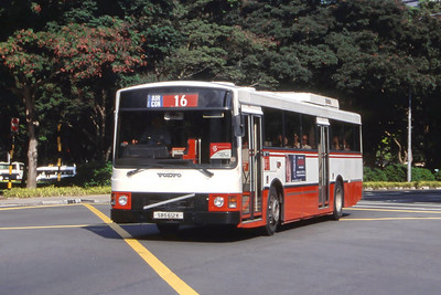 Singapore Bus Services SBS612K Orchard Rd Singapore Sep 98