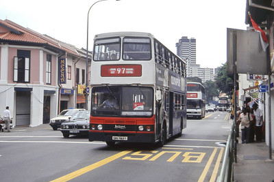 Singapore Bus Services SBS7163T Little India Singapore Sep 98