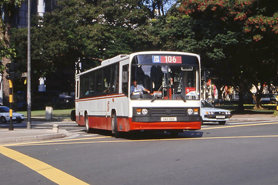 Singapore Bus Services SBS98U Orchard Rd Singapore Sep 98