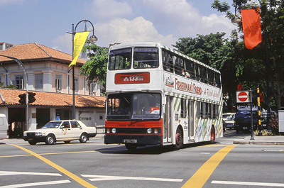 Singapore Bus Services SBS7145X  Bras Basah Rd Singapore Sep 98
