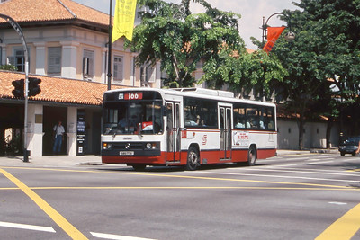 Singapore Bus Services SBS177A  Bras Basah Rd Singapore Sep 98