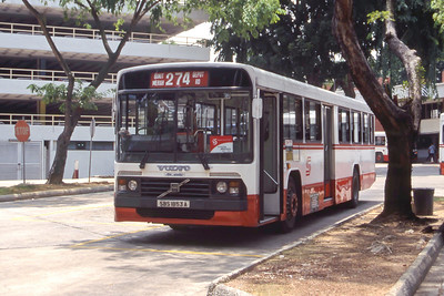 Singapore Bus Services SBS1853A Bukit Merah Bus Stn Singapore Sep 98