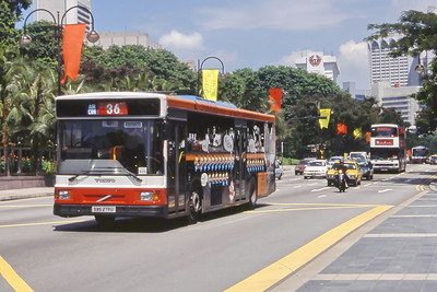 Singapore Bus Services SBS2711U Orchard Rd Singapore Sep 98