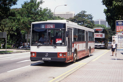 Singapore Bus Services SBS376S Orchard Rd Singapore Sep 98