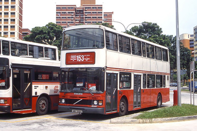 Singapore Bus Services SBS7212J Hougang Interchange Singapore Sep 98