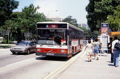 Singapore Bus Services SBS2735B Orchard Rd Singapore Sep 98