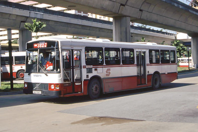 Singapore Bus Services SBS1796G Eunos Singapore Sep 98