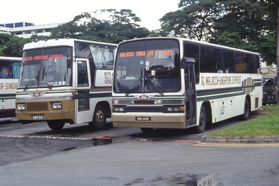Malacca _Singapore Express MAB4426_MW6310 Cross Border Bus Stn Singapore Sep 98