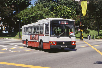 Singapore Bus Services SBS485K Orchard Rd Singapore Sep 98