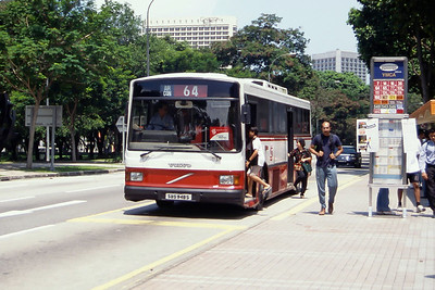 Singapore Bus Services SBS948S Orchard Rd Singapore 2 Sep 98