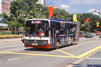 Singapore Bus Services SBS89X Orchard Rd Singapore Sep 98