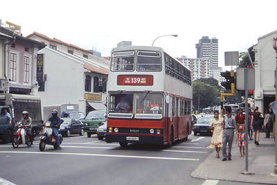 Singapore Bus Services SBS5615U Little India Singapore 2 Sep 98