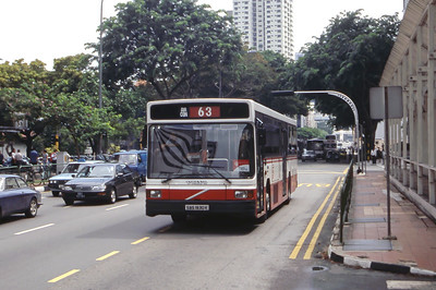 Singapore Bus Services SBS1930K Bras Basah Rd Singapore Sep 98