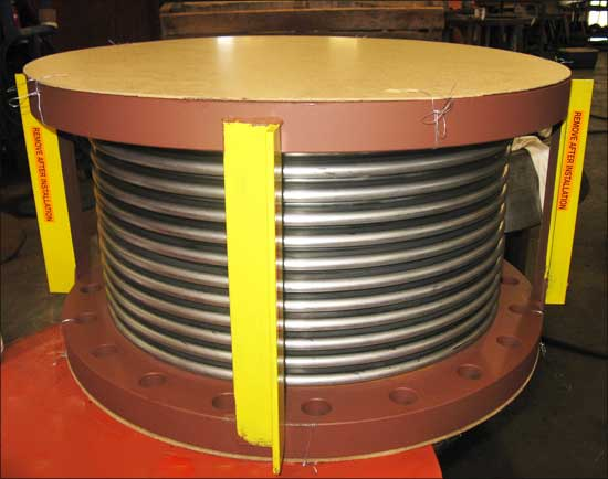 Single Flanged Expansion Joint (#110065 - 12/13/2010)