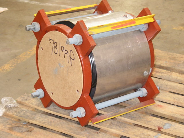 Single Tied Expansion Joint With Stainless Steel Cover 20050812 (MD)