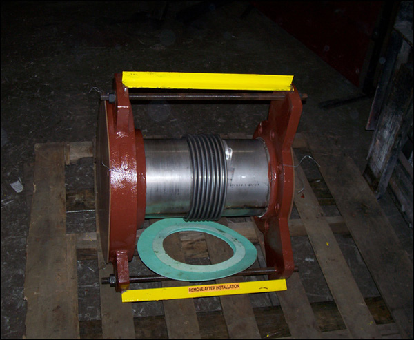 """8"""" a Single Expansion Joint for an Emergency Shutdown (#91210 - 01/30/08)"""