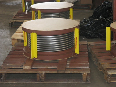 Single Tied Expansion Joint For A Chemical Plant