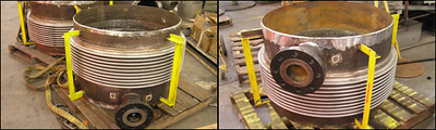 Single Expansion Joints for a Heat Exchanger Company in Japan (#00663 - 04/05/2006)