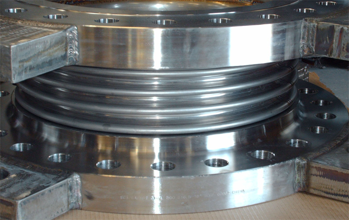 """18"""" Single Expansion Joints for an Offshore Oil Platform in Korea (Ref#92501 - 09/12/2007)"""