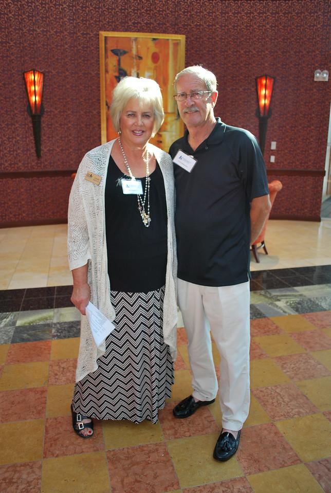 Linda and Terry Maienschein