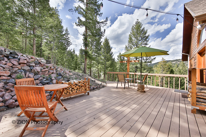A Mountain Home Deck