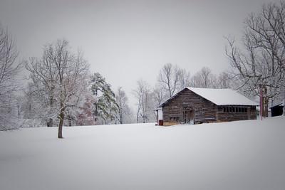 Snow at Grandpa's (vignette)
