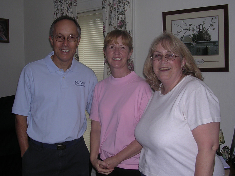 Jim, Colleen and Debbie