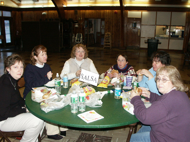 Fellowship in the dining hall while enjoying delicious meals.